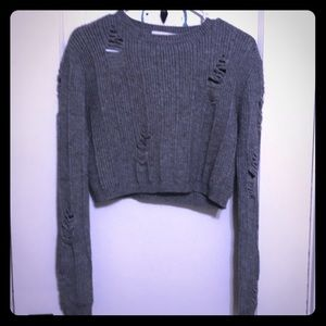 NWOT etophe studios sweater distressed